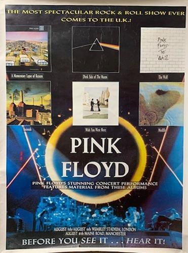 Pink Floyd Momentary Lapse of Reason - Tour poster poster UK PINPOMO740543