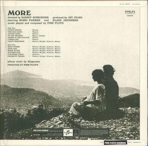 Pink Floyd More - 180gm vinyl LP album (LP record) UK PINLPMO730612