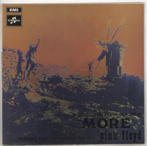 Pink Floyd More - 3rd - EX vinyl LP album (LP record) UK PINLPMO735510