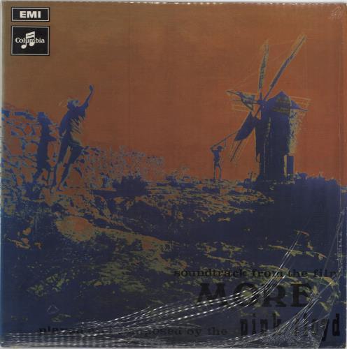 Pink Floyd More - 3rd vinyl LP album (LP record) UK PINLPMO92758