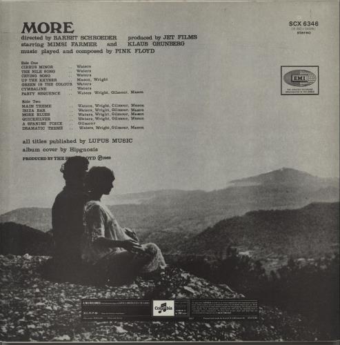 Pink Floyd More - 6th vinyl LP album (LP record) UK PINLPMO232698