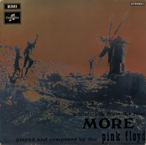 Pink Floyd More vinyl LP album (LP record) Australian PINLPMO654459