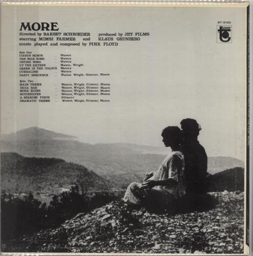 Pink Floyd More vinyl LP album (LP record) US PINLPMO737084