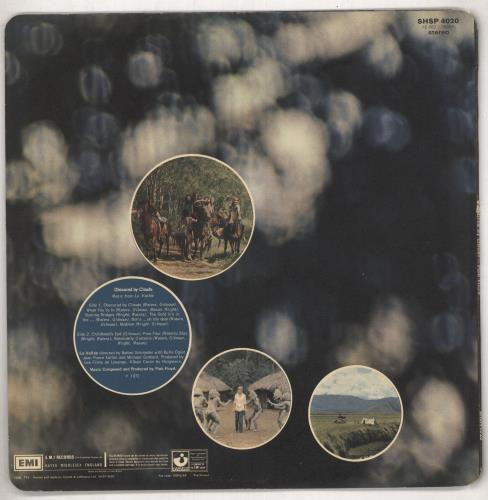 Pink Floyd Obscured By Clouds - 1st (A) - EX vinyl LP album (LP record) UK PINLPOB713102