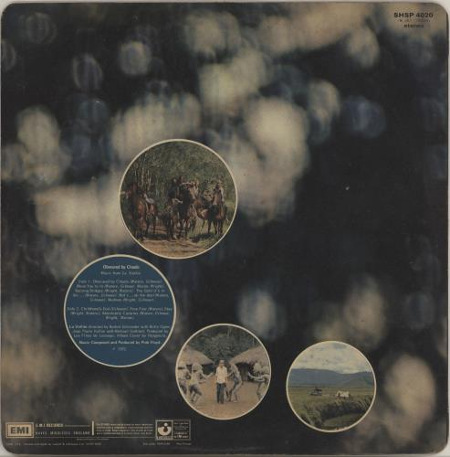 Pink Floyd Obscured By Clouds - 1st (A) - VG vinyl LP album (LP record) UK PINLPOB752109