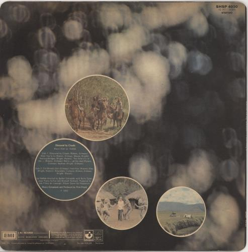Pink Floyd Obscured By Clouds - 2nd vinyl LP album (LP record) UK PINLPOB766858