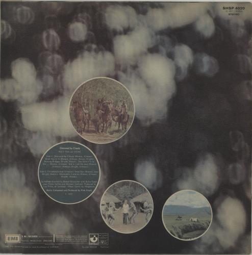 Pink Floyd Obscured By Clouds - 6th - Square vinyl LP album (LP record) UK PINLPOB677421
