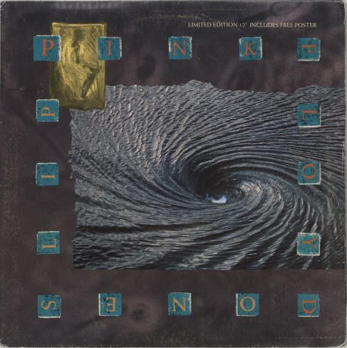 "Pink Floyd One Slip - Poster P/S - EX 12"" vinyl single (12 inch record / Maxi-single) UK PIN12ON713156"