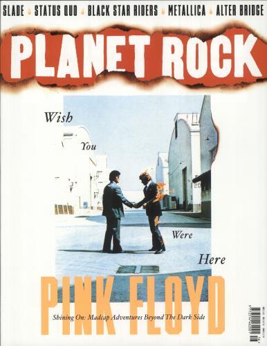 Pink Floyd Planet Rock magazine UK PINMAPL736239
