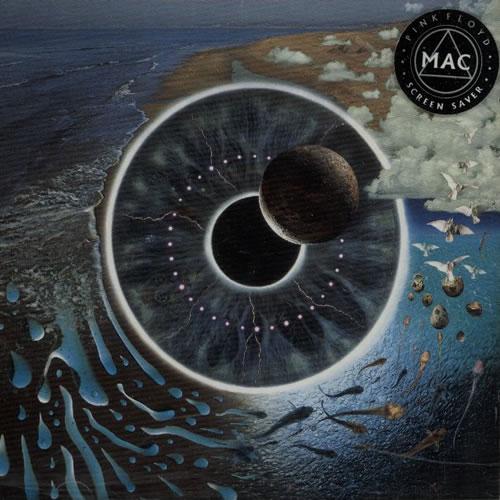 Pink Floyd Pulse Mac Screen Saver Uk Promo Memorabilia