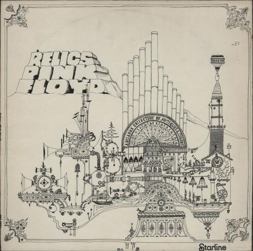 Pink Floyd Relics - 1st - EX vinyl LP album (LP record) UK PINLPRE491848
