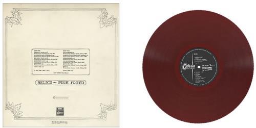 Pink Floyd Relics - Red + Obi vinyl LP album (LP record) Japanese PINLPRE114961