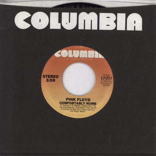 "Pink Floyd Run Like Hell - 2nd Orange Label 7"" vinyl single (7 inch record) US PIN07RU768764"