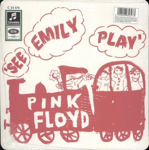 """Pink Floyd See Emily Play - Record Store Day 7"""" vinyl single (7 inch record) UK PIN07SE716831"""