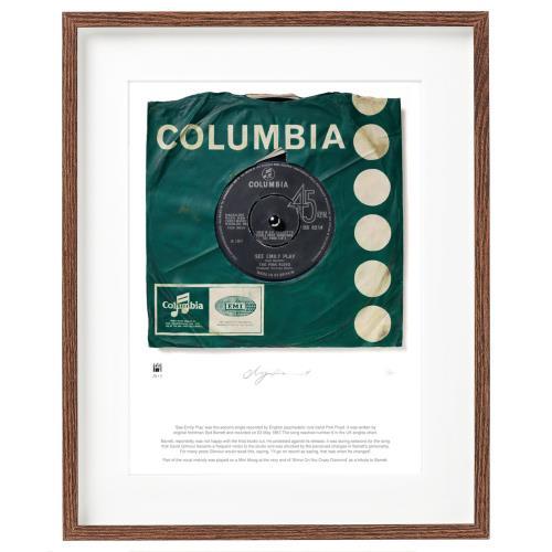 Pink Floyd See Emily Play - SuperSizeArt Numbered Print artwork UK PINARSE731141