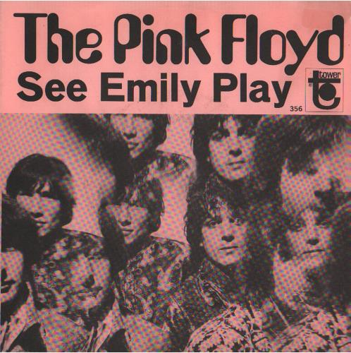 "Pink Floyd See Emily Play 7"" vinyl single (7 inch record) US PIN07SE655164"