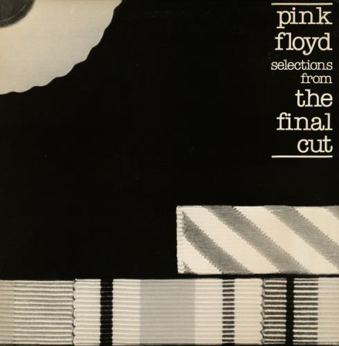"""Pink Floyd Selections From The Final Cut 12"""" vinyl single (12 inch record / Maxi-single) US PIN12SE47040"""