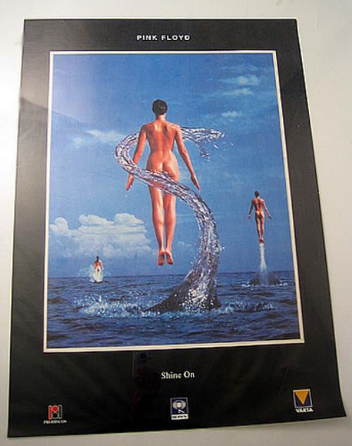 Celebrity Pink Floyd Naked Lady Poster Scenes