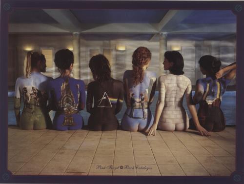 Pink Floyd The Dark Side Of The Moon + Print vinyl LP album (LP record) UK PINLPTH683719