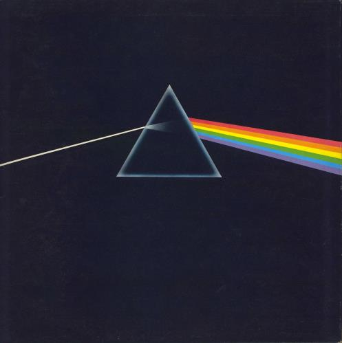Pink Floyd The Dark Side Of The Moon - 1st - Complete - EX vinyl LP album (LP record) UK PINLPTH388193