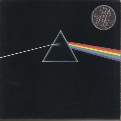 Pink Floyd The Dark Side Of The Moon - 2nd + Posters vinyl LP album (LP record) UK PINLPTH734120