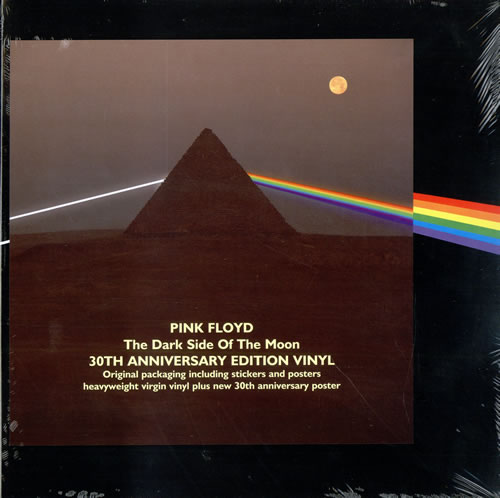 Pink Floyd The Dark Side Of The Moon 30th Sealed Uk Vinyl Lp