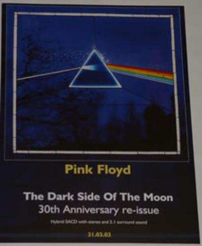 Pink Floyd The Dark Side Of The Moon - 30th Anniversary Re