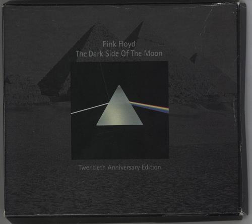 Pink Floyd The Dark Side Of The Moon - EX CD album (CDLP) UK PINCDTH506791