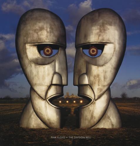Pink Floyd The Division Bell - Blue vinyl LP album (LP record) US PINLPTH44735