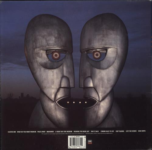 Pink Floyd The Division Bell - VG vinyl LP album (LP record) UK PINLPTH734285