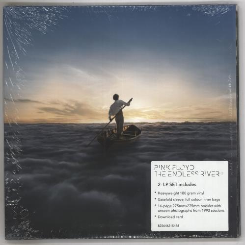Pink Floyd The Endless River - 180gm + Shrinkwrap 2-LP vinyl record set (Double Album) UK PIN2LTH738714
