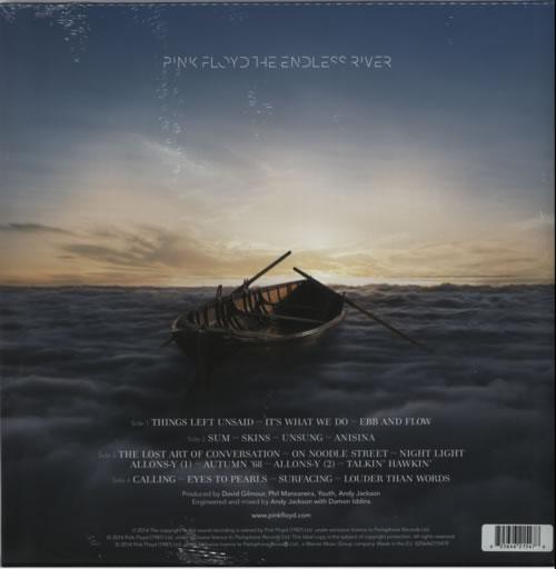 Pink Floyd The Endless River 180gm Sealed Uk 2 Lp