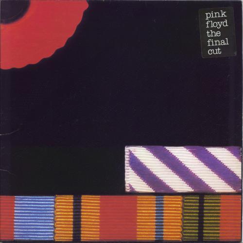 Pink Floyd The Final Cut - 2nd - Stickered - EX vinyl LP album (LP record) UK PINLPTH304445
