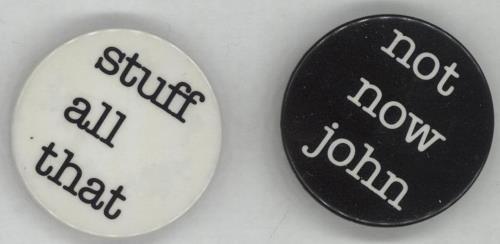 Pink Floyd The Final Cut - Button Badges memorabilia UK PINMMTH664509