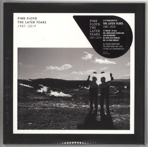 Pink Floyd The Later Years 1987-2019 - 180gm Vinyl - Sealed 2-LP vinyl record set (Double Album) UK PIN2LTH734537