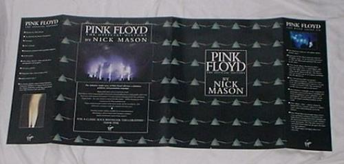 Pink Floyd The Official History press book UK PINPBTH162555