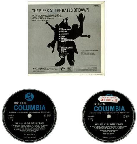 Pink Floyd The Piper At The Gates Of Dawn - 1st (a) - Sample vinyl LP album (LP record) UK PINLPTH449722
