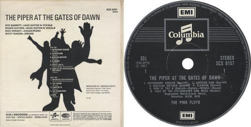 Pink Floyd The Piper At The Gates Of Dawn - 4th vinyl LP album (LP record) UK PINLPTH281110