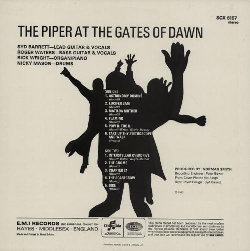 Pink Floyd The Piper At The Gates Of Dawn - 5th vinyl LP album (LP record) UK PINLPTH753254