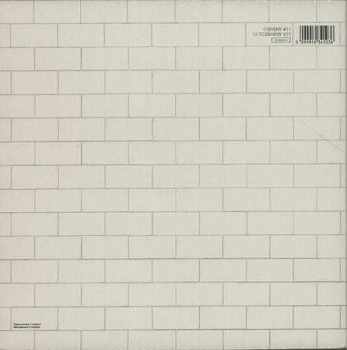 Pink Floyd The Wall - Barcoded Sleeve 2-LP vinyl record set (Double Album) UK PIN2LTH316778