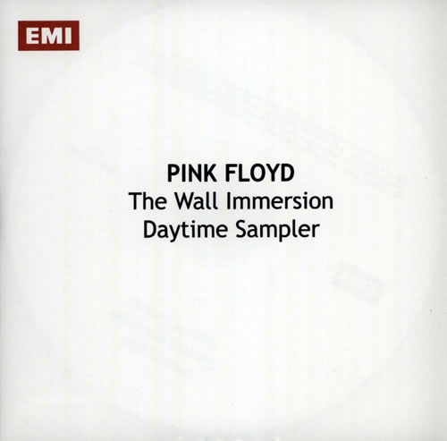 Pink Floyd The Wall Immersion: Daytime Sampler CD-R acetate UK PINCRTH571918
