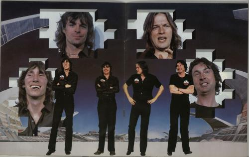 Pink Floyd The Wall Performed Live Wall Cover Ex Uk