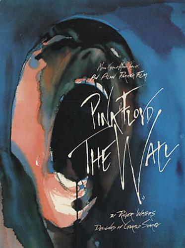 Pink Floyd The Wall handbill US PINHBTH325726