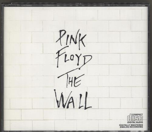 Pink Floyd The Wall 2 CD album set (Double CD) Hong Kong PIN2CTH719716