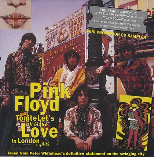 "Pink Floyd Tonite Let's All Make Love In London CD single (CD5 / 5"") UK PINC5TO44447"