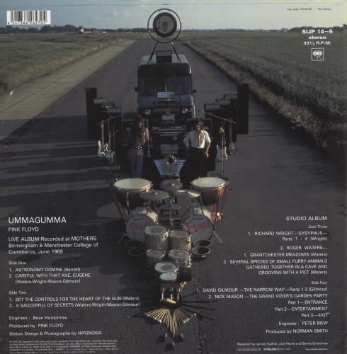 Pink Floyd Ummagumma - 180gm 2-LP vinyl record set (Double Album) Japanese PIN2LUM670516