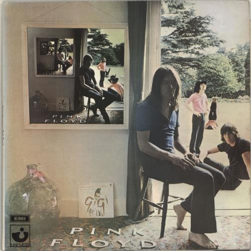Pink Floyd Ummagumma - 2nd - EX 2-LP vinyl record set (Double Album) UK PIN2LUM696445
