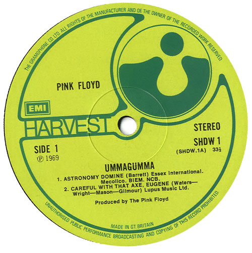 Pink Floyd Ummagumma - 2nd 2-LP vinyl record set (Double Album) UK PIN2LUM581963