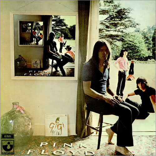 Pink Floyd Ummagumma - Black Label - Barcoded 2-LP vinyl record set (Double Album) UK PIN2LUM459168