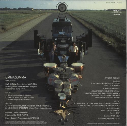 Pink Floyd Ummagumma - Remastered - Sealed 2-LP vinyl record set (Double Album) UK PIN2LUM716576
